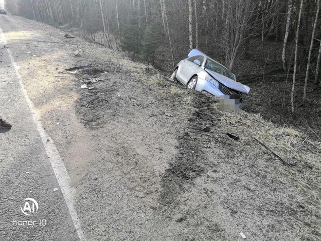 Число пострадавших в аварии под Бежецком увеличилось до четырех человек
