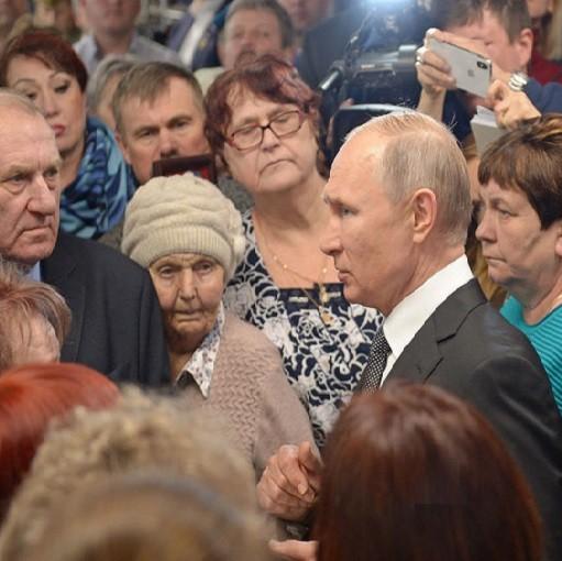 Бабушка погибшего героя из Конаково встретилась с президентом