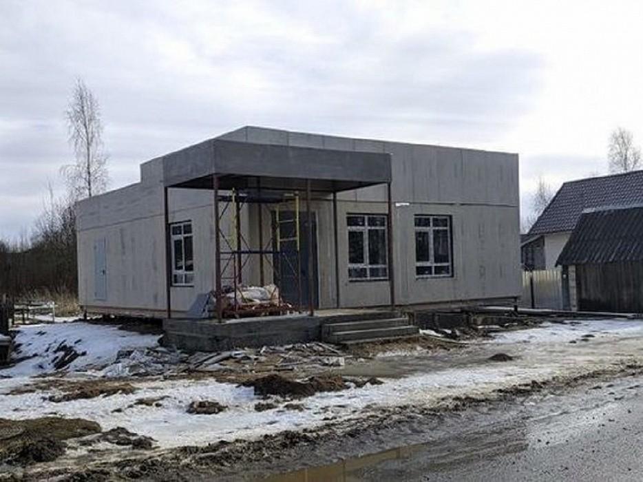 В Оленино завершаются работы по созданию модульного МФЦ