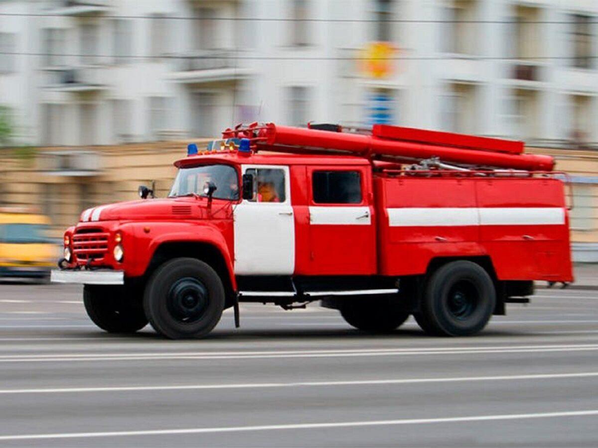 В Тверской области мужчина едва не погиб в огне