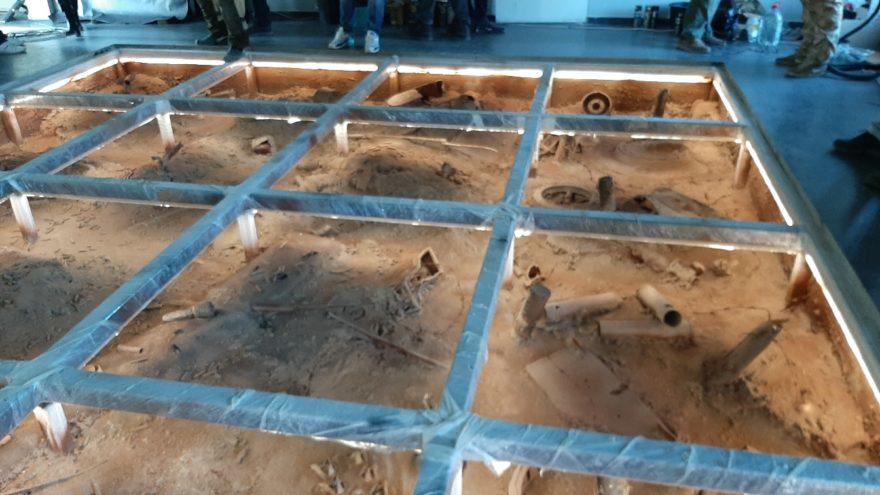 Гости Ржевского мемориала увидят поле боя под стеклом