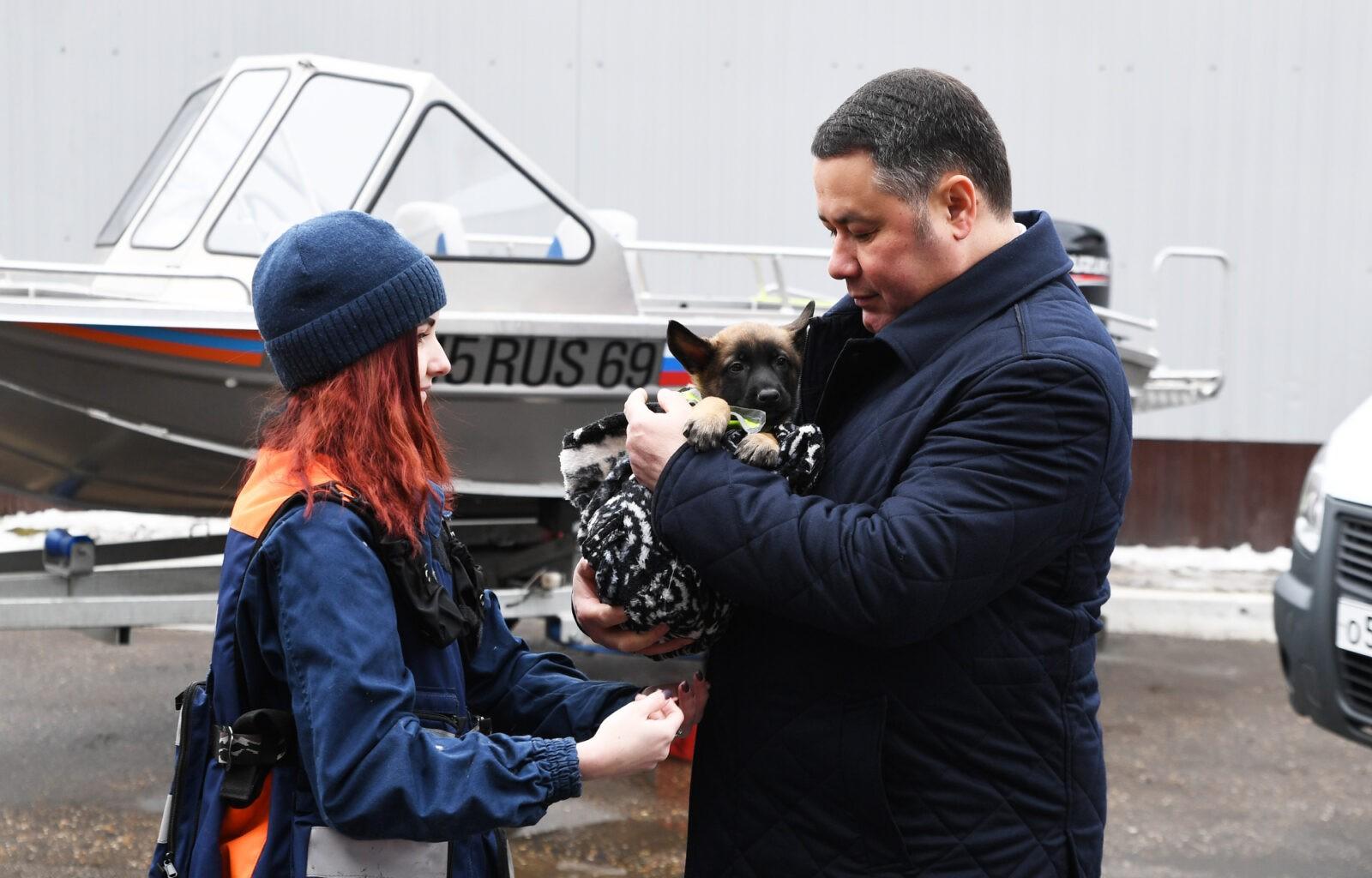 Аварийно-спасательной службе Тверской области исполнилось 25 лет