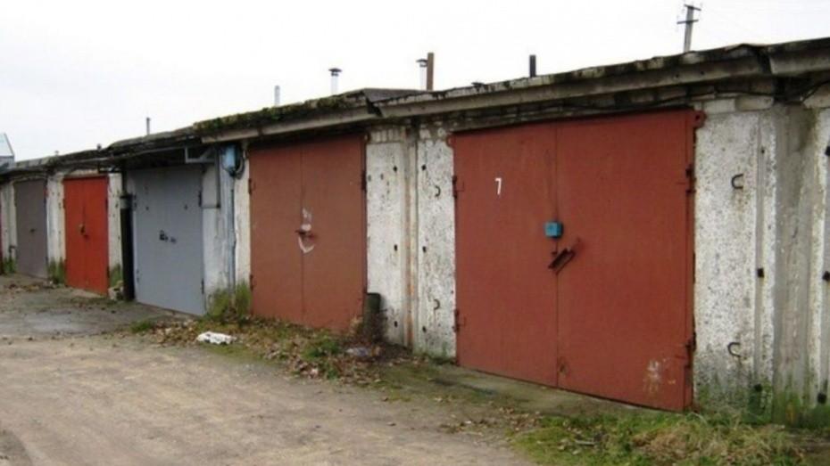 В Тверской области воры два дня пытались спилить гаражные ворота