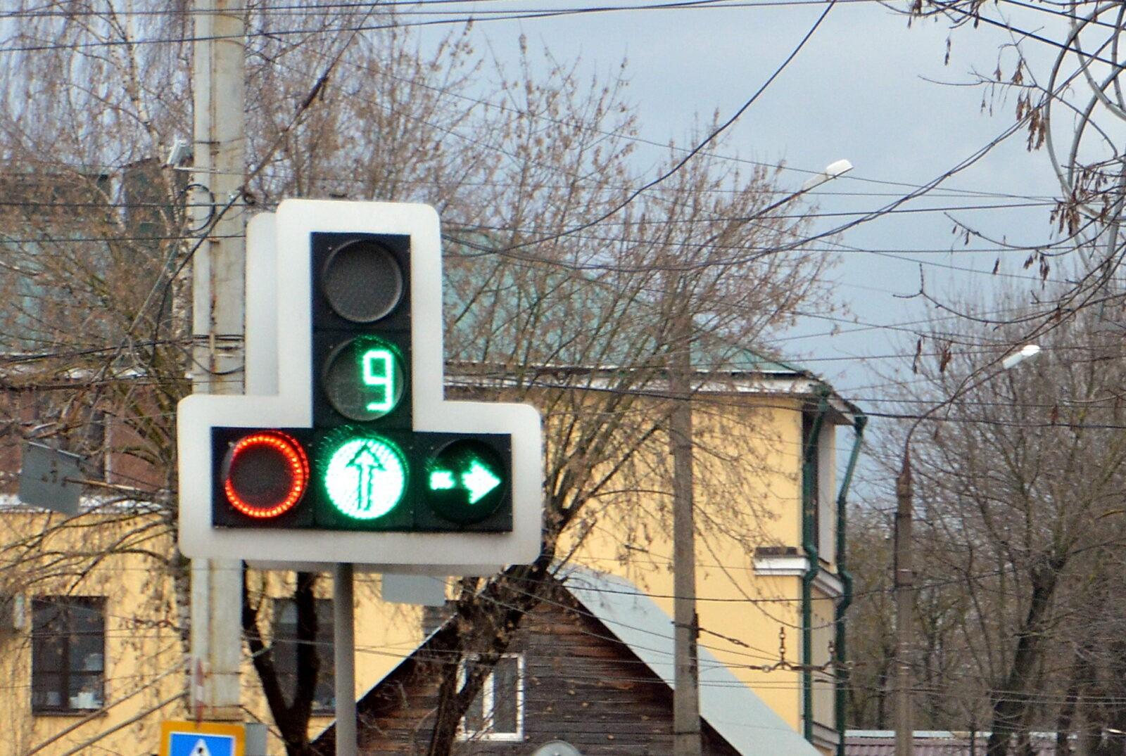 В Твери испытывают умные светофоры