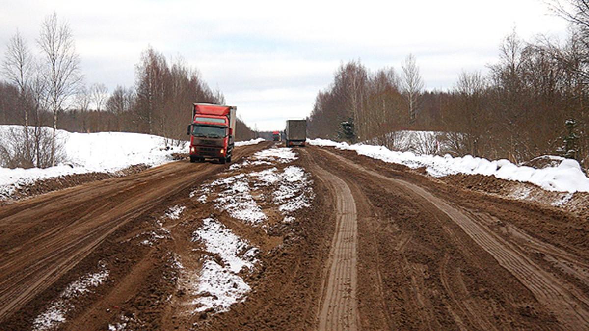 Опубликован список дорог Тверской области, которые закроют весной
