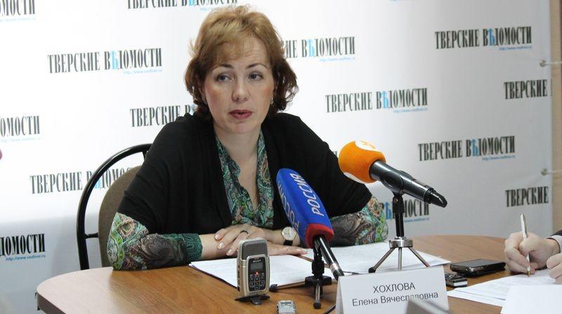 Министр Елена Хохлова перешла на работу в администрацию Торжокского района