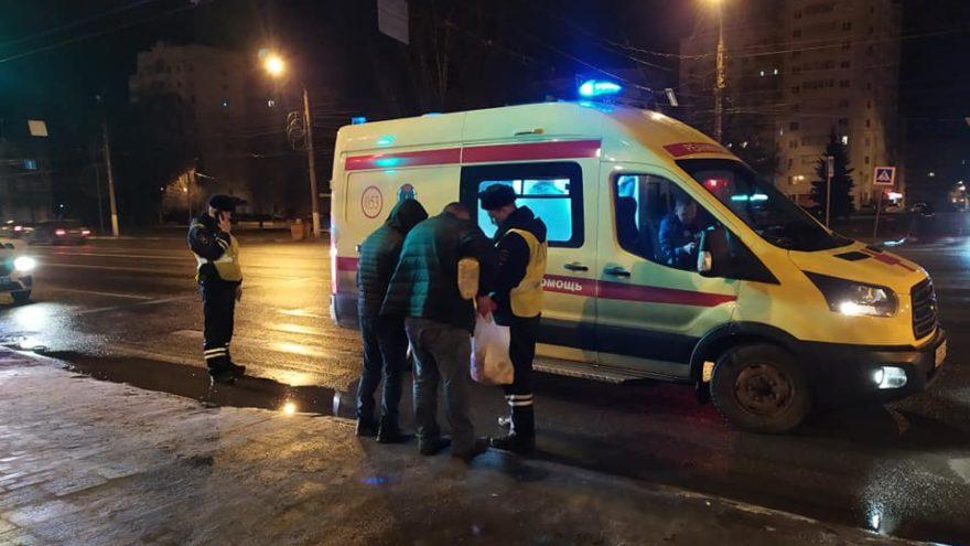 Тверская поэтесса-блогер стала свидетелем наезда на двух мужчин