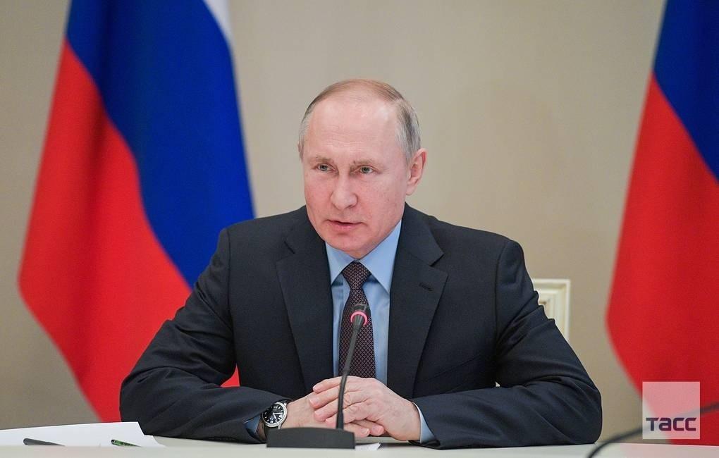 Владимир Путин объявил следующую неделю полностью нерабочей