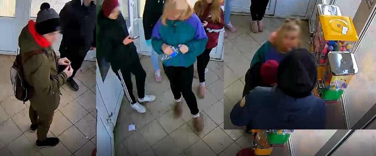 В Тверской области подростки, ломающие автомат с конфетами, попали на камеру