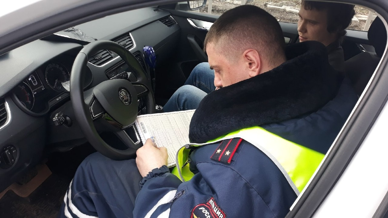 В Твери остановили более 10 автомобилей за нарушение правил перевозки детей
