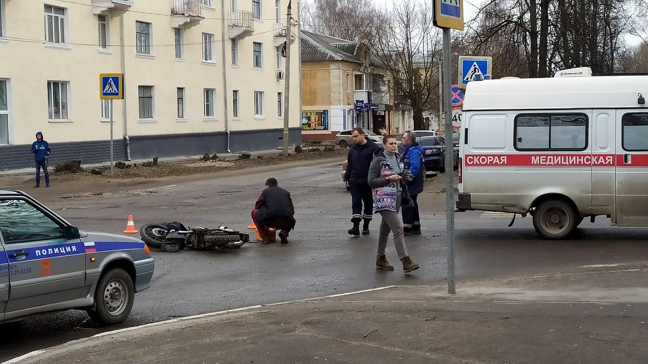 В Тверской области насмерть сбили мотоциклиста