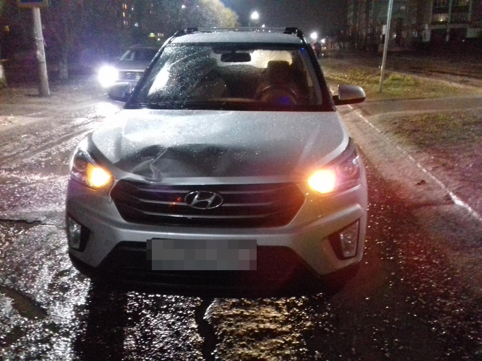 В Тверской области машина сбила женщину на пешеходном переходе