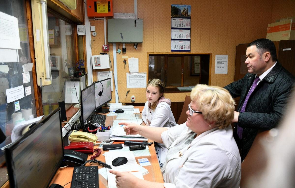 В Тверской области капитально отремонтируют станцию скорой помощи