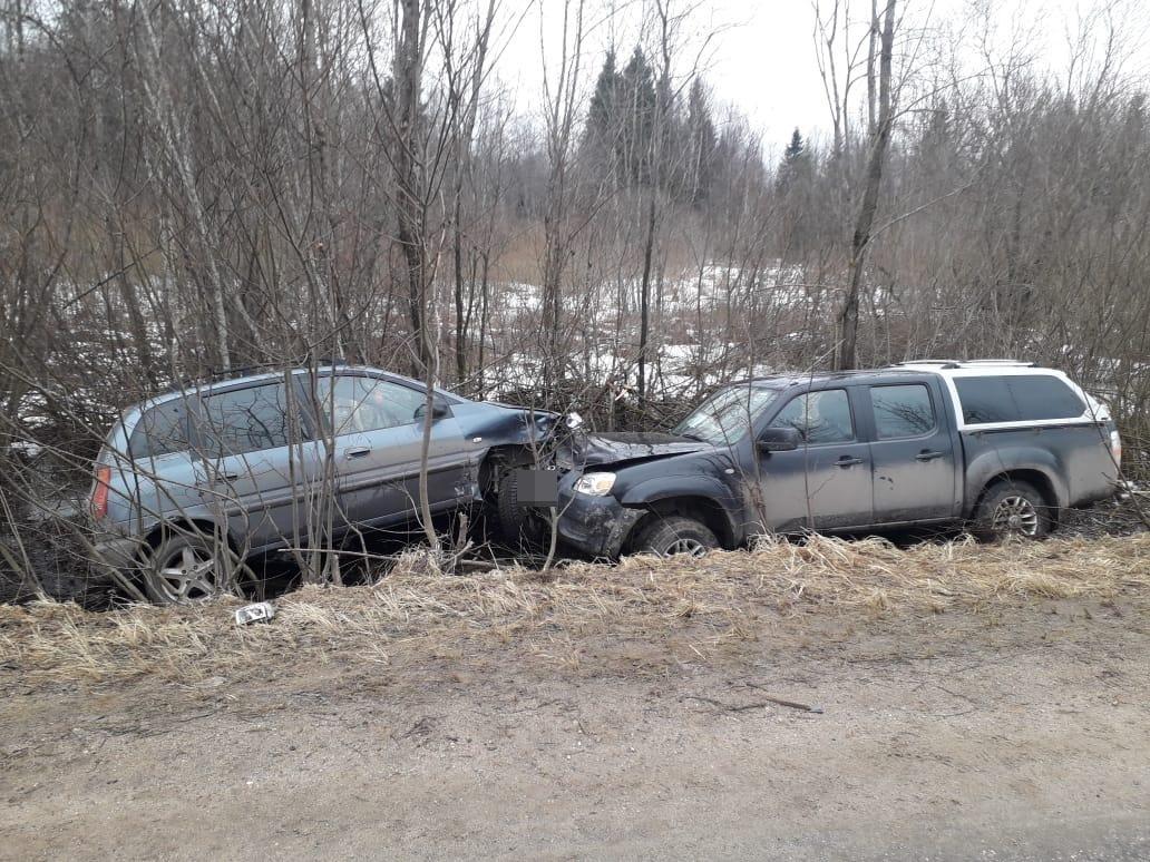 В Тверской области из-за пьяного водителя в ДТП пострадал пассажир