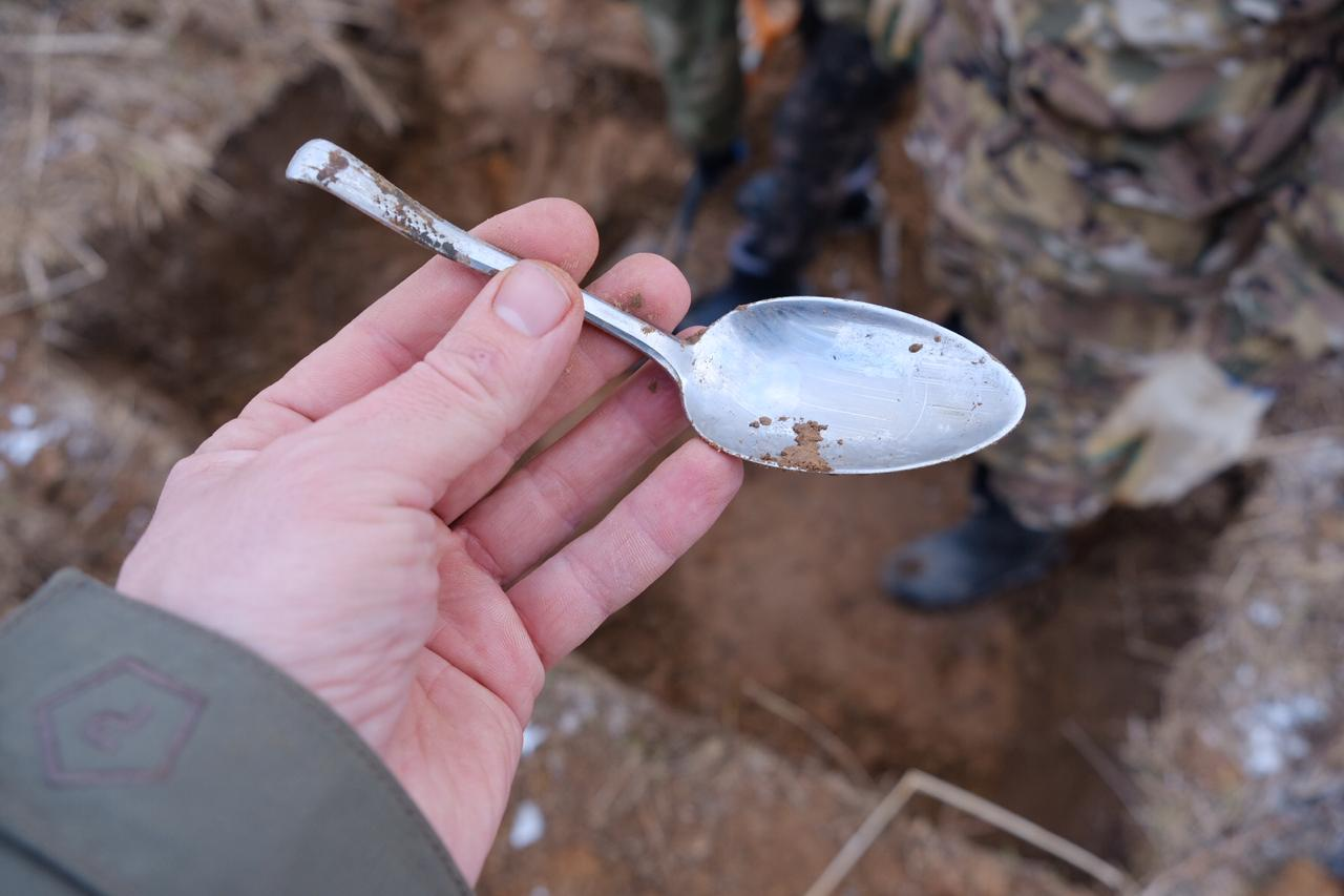 В Тверской области нашли 23 солдата и всего 2 медальона