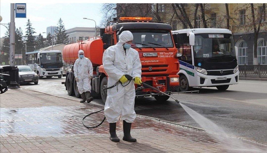 В Тверской области из-за гостей проведут дезинфекцию улиц