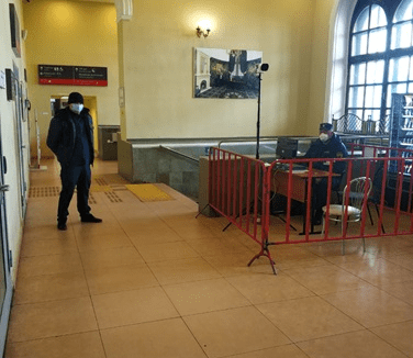 В Тверской области продезинфицировали 15 железнодорожных вокзалов и станций