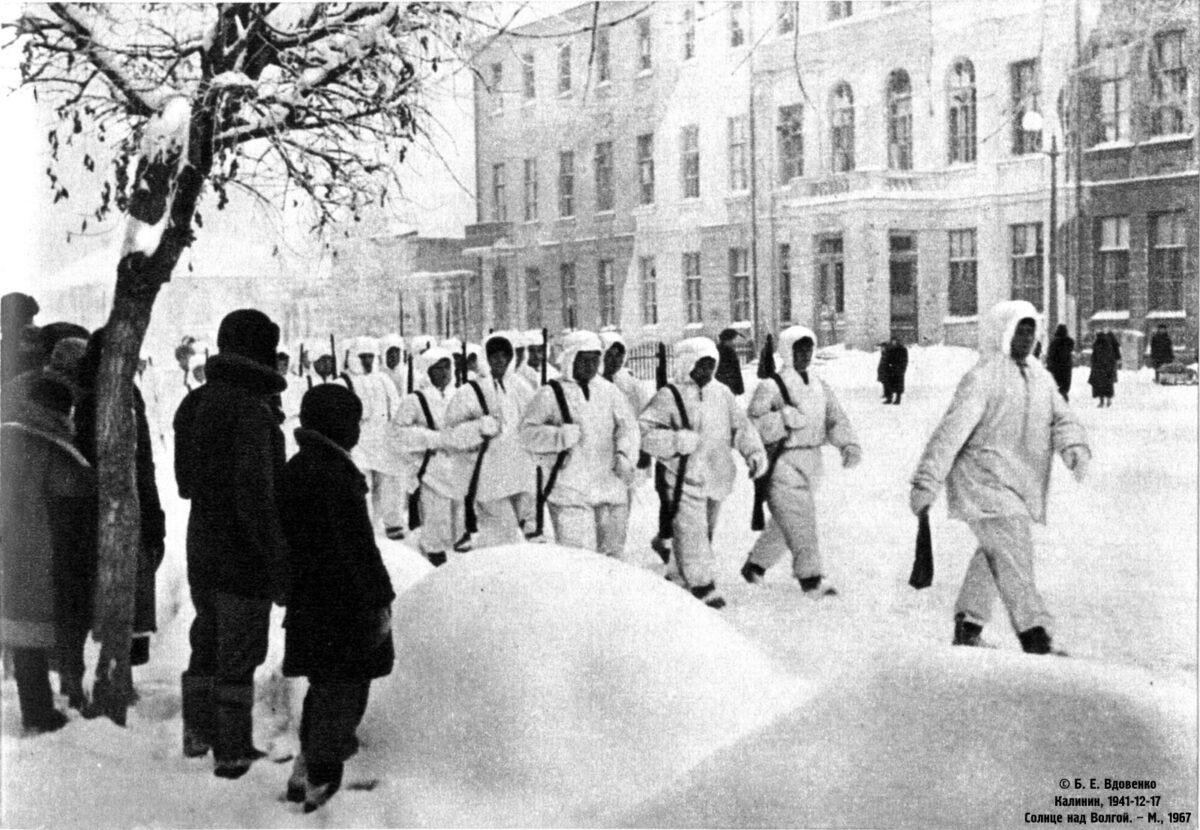 В Сибири показали фильм про Тверь в годы войны