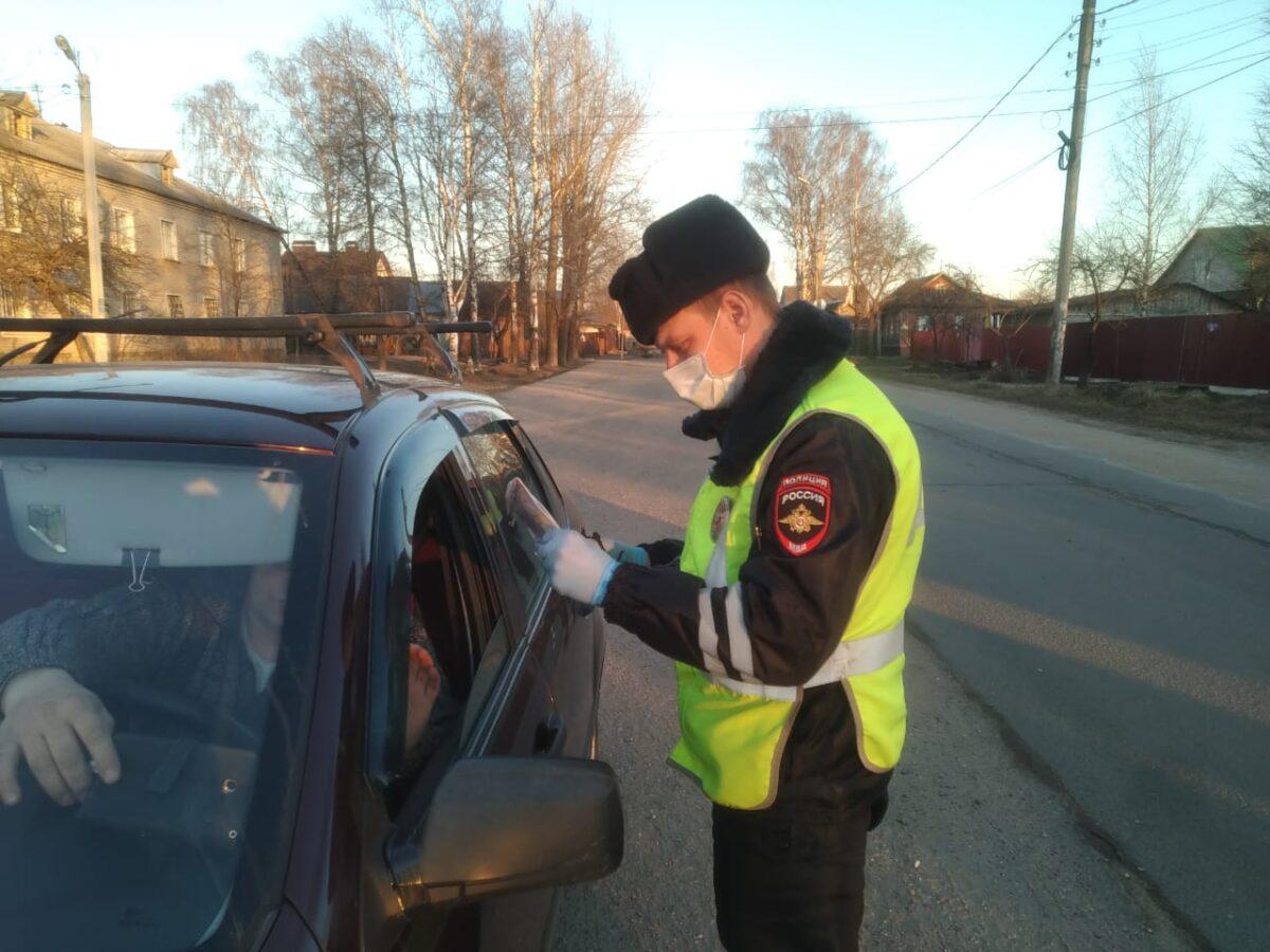 На дорогах Твери проверяют, почему водители выехали из дома