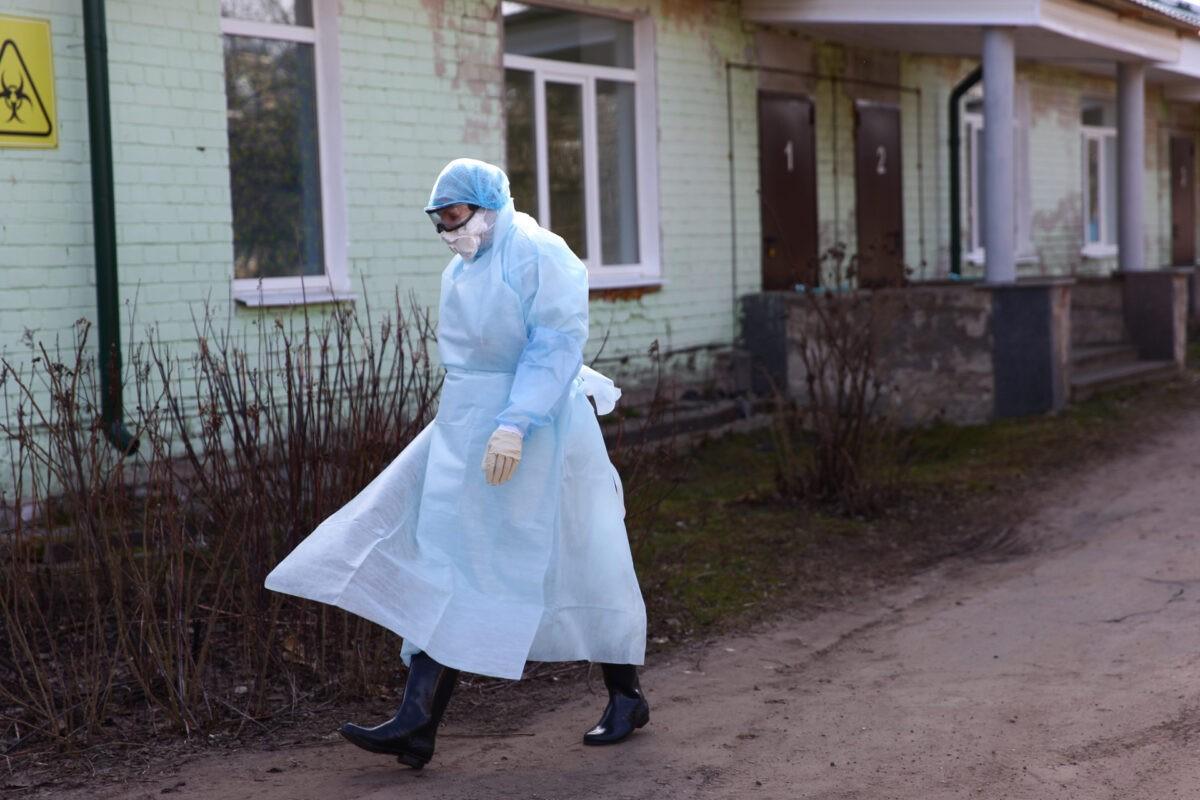 Из-за дезинфекции в Калининскую ЦРКБ временно не госпитализируют пациентов