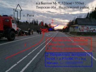 Опубликованы фото страшной аварии в Тверской области