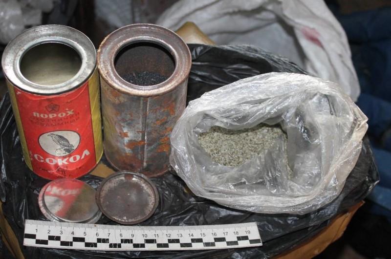 У жителя Тверской области нашли дома взрывчатые вещества