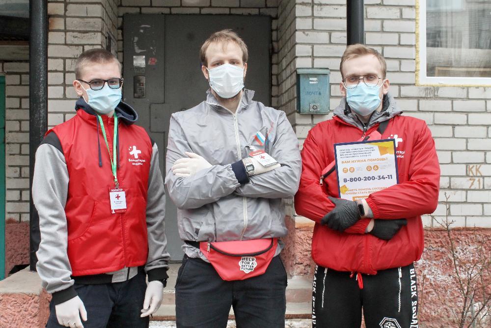 Тверские волонтеры получили маски, перчатки и антисептики
