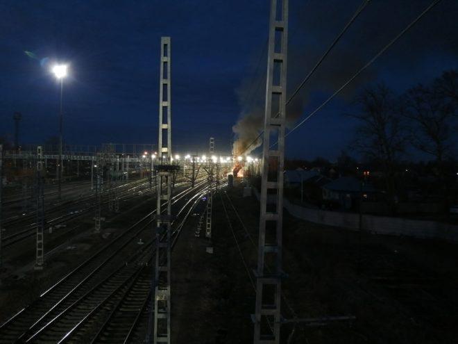 """Опубликованы фото вечернего пожара на станции """"Тверь"""""""
