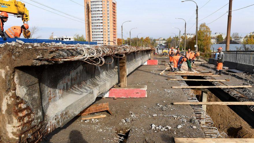 Власти Твери назвали новые сроки окончания ремонта Крупского моста