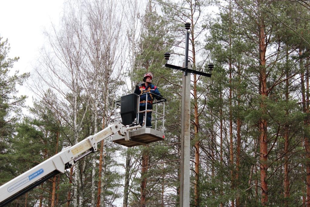 В Тверской области энергетики работают в режиме повышенной готовности