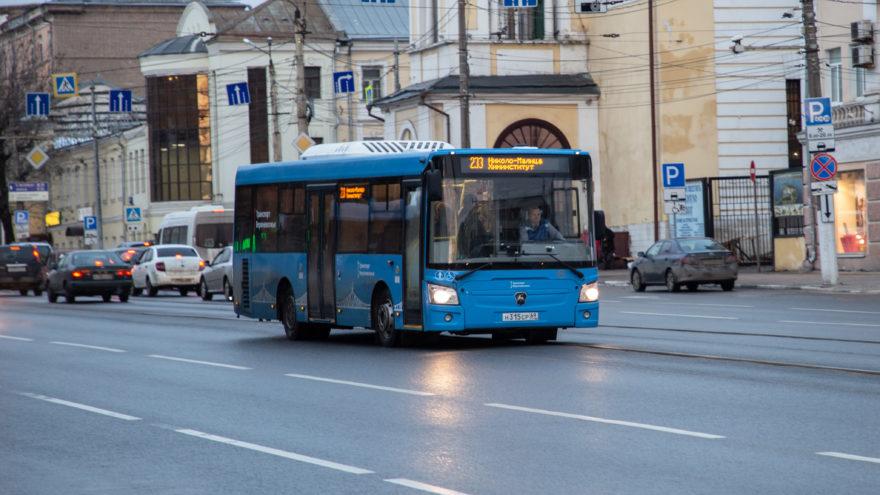 В Твери начали работать еще два новых автобусных маршрута
