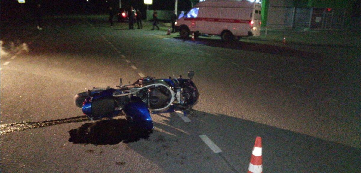 В Тверской области после опрокидывания погиб мотоциклист