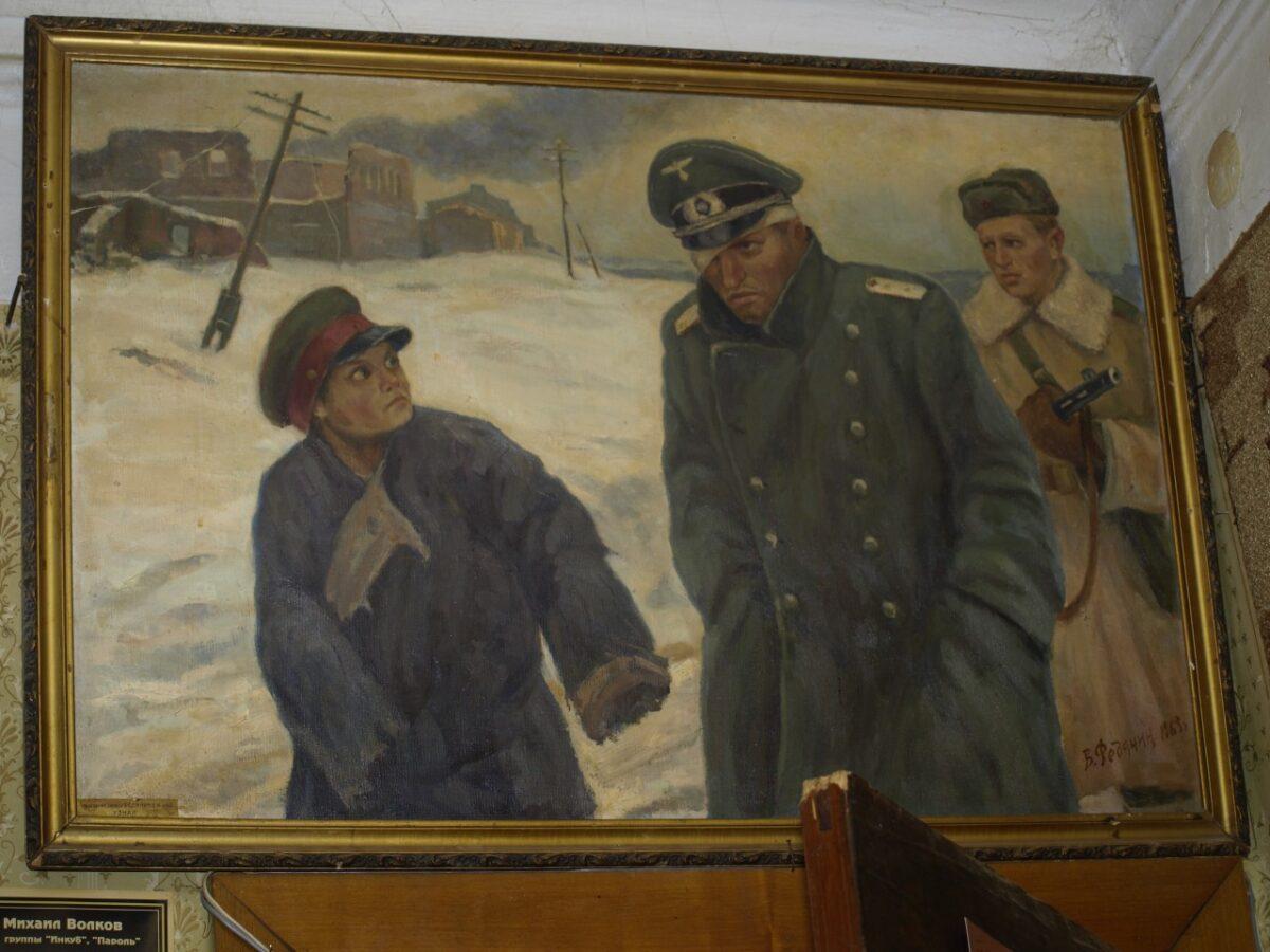 В Твери из квартиры украли картину художника-фронтовика