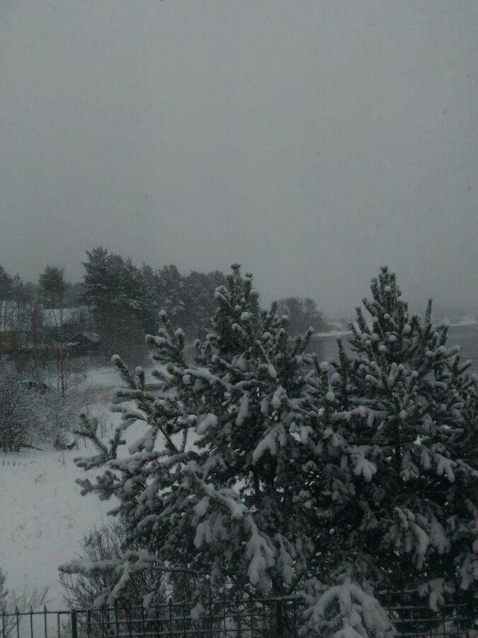 Тверскую область в апреле засыпает снегом