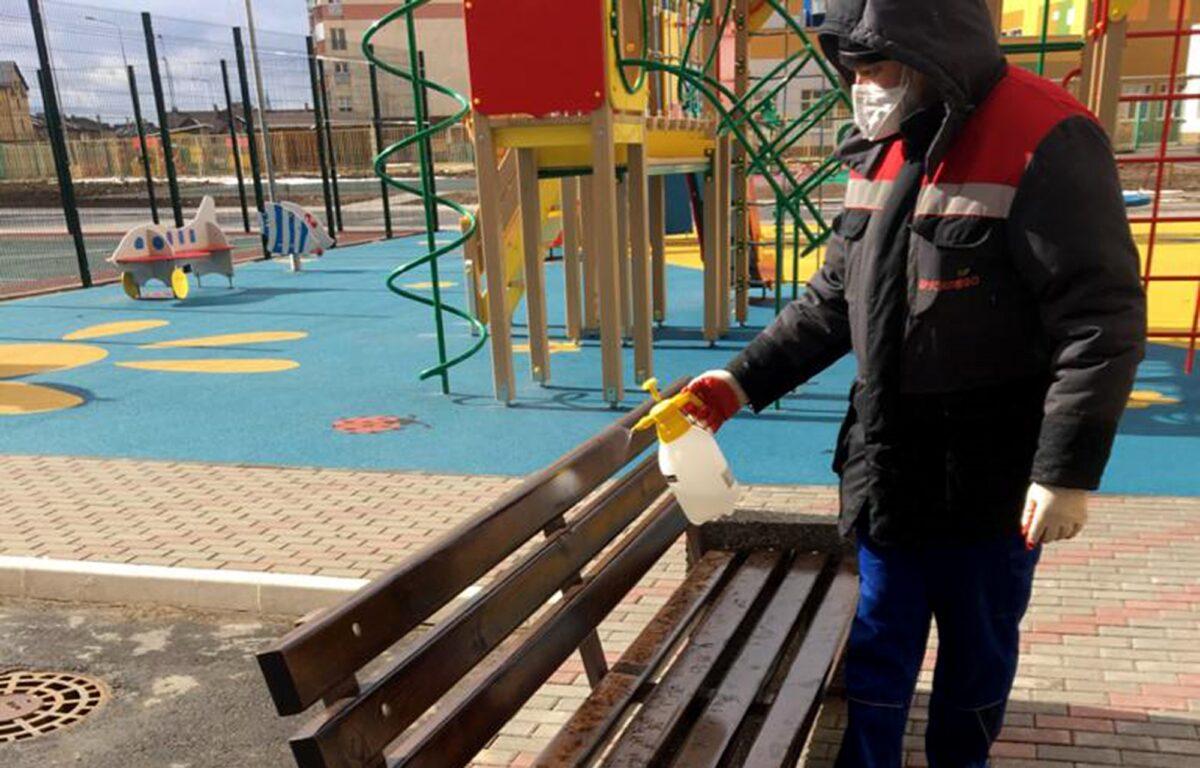 В Тверской области проверяют, как защищены от коронавируса многоквартирные дома
