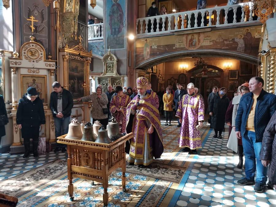 В кимрском Преображенском соборе на Пасху впервые зазвучат колокола