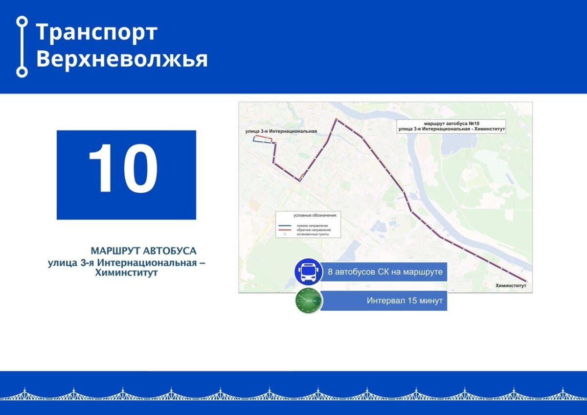 В Твери запустили сразу три новых автобусных маршрута