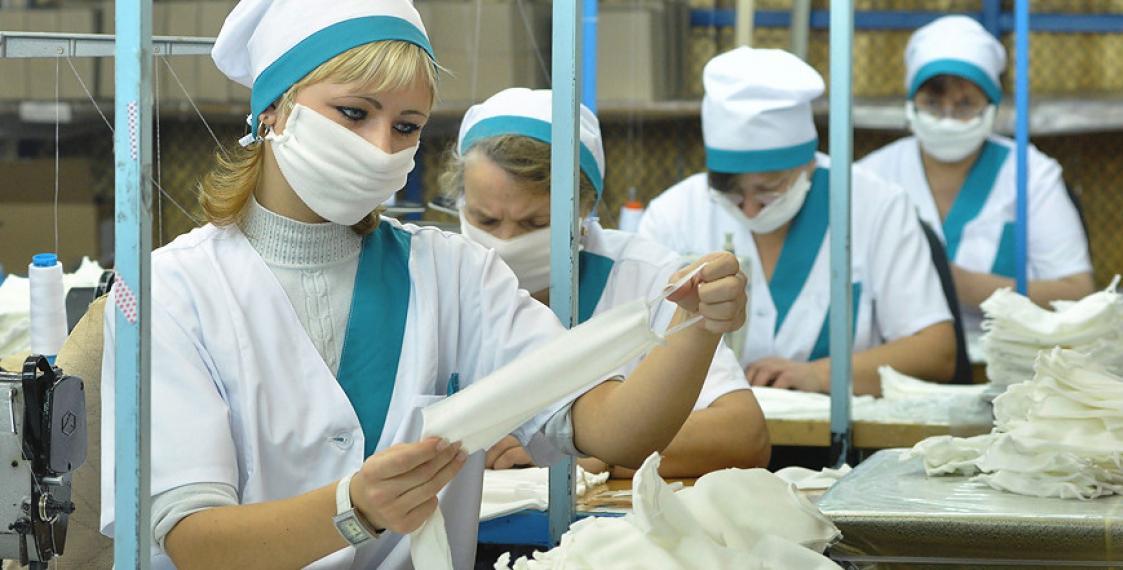 35 предприятий Тверской области встали на борьбу с коронавирусом