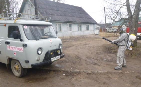В Тверской области дезинфицируют детские дома и больницы