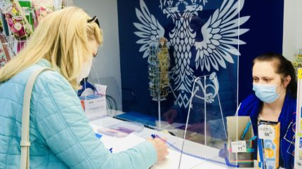 В Тверских отделениях Почты России установили защитные пластиковые экраны