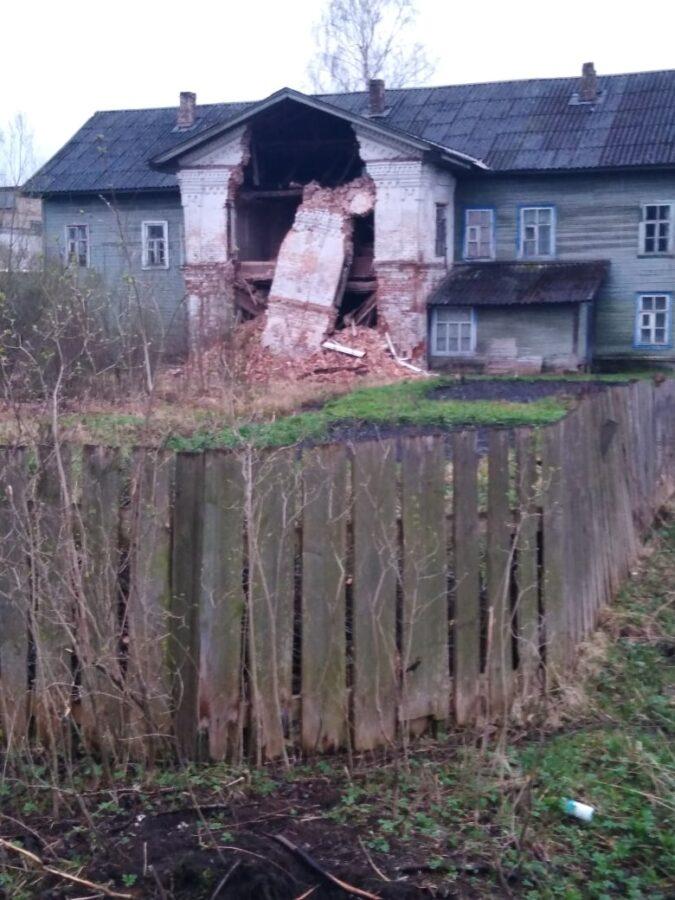 В Тверской области рушится дом, где родился Ожегов и гостил Горький