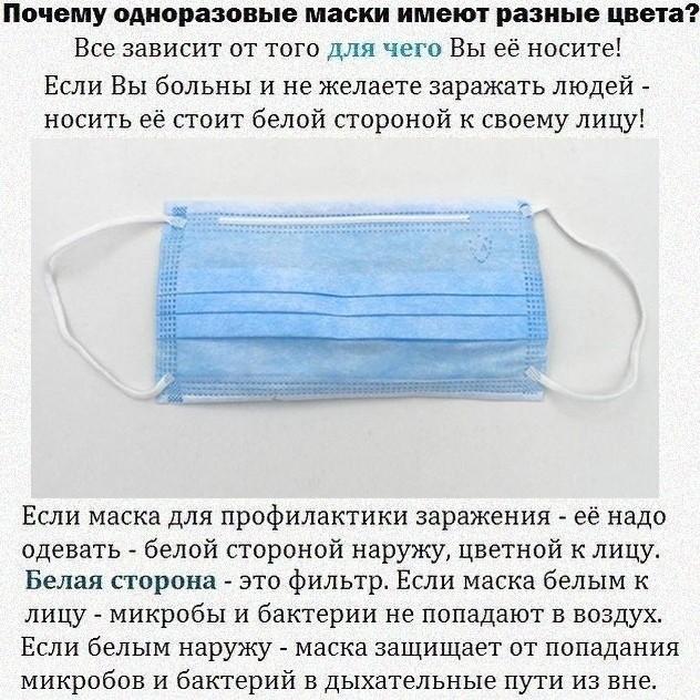 """Портал """"Тверьлайф"""" рассказал, как правильно носить защитную маску"""