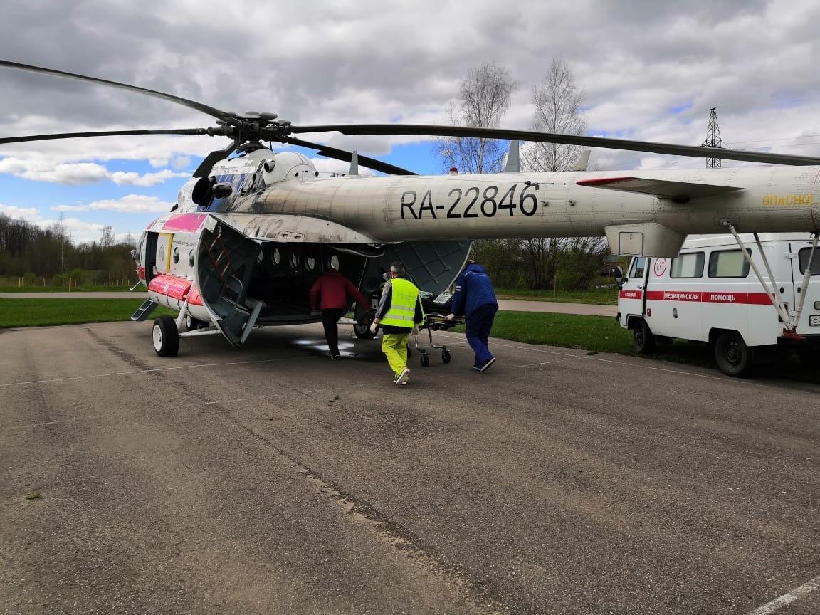 В Тверской области появятся еще три площадки для вертолетов санавиации