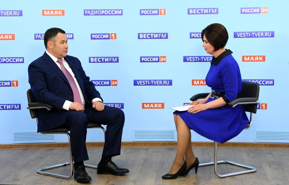 Губернатор рассказал о престижных вакансиях с хорошей зарплатой в Тверской области