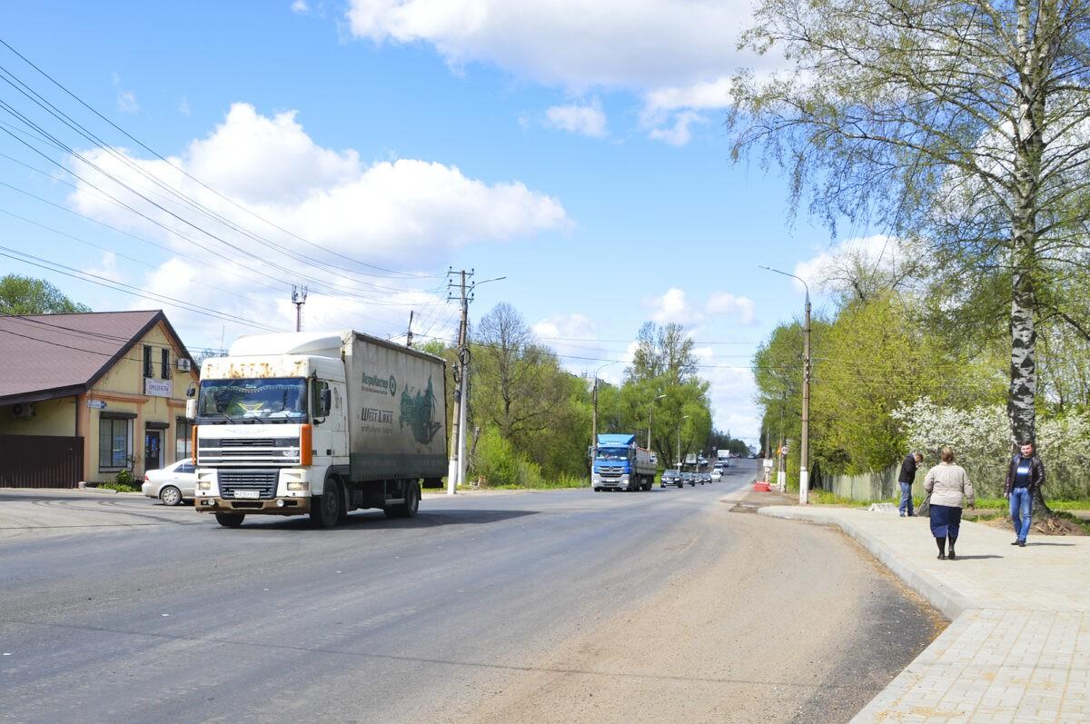 В Твери завершается ремонт Московского шоссе