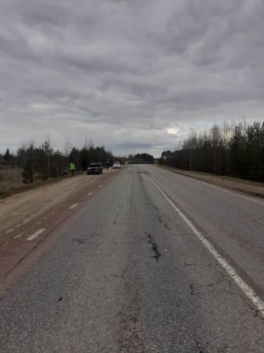 Опубликовано фото аварии в Тверской области с пострадавшим пенсионером