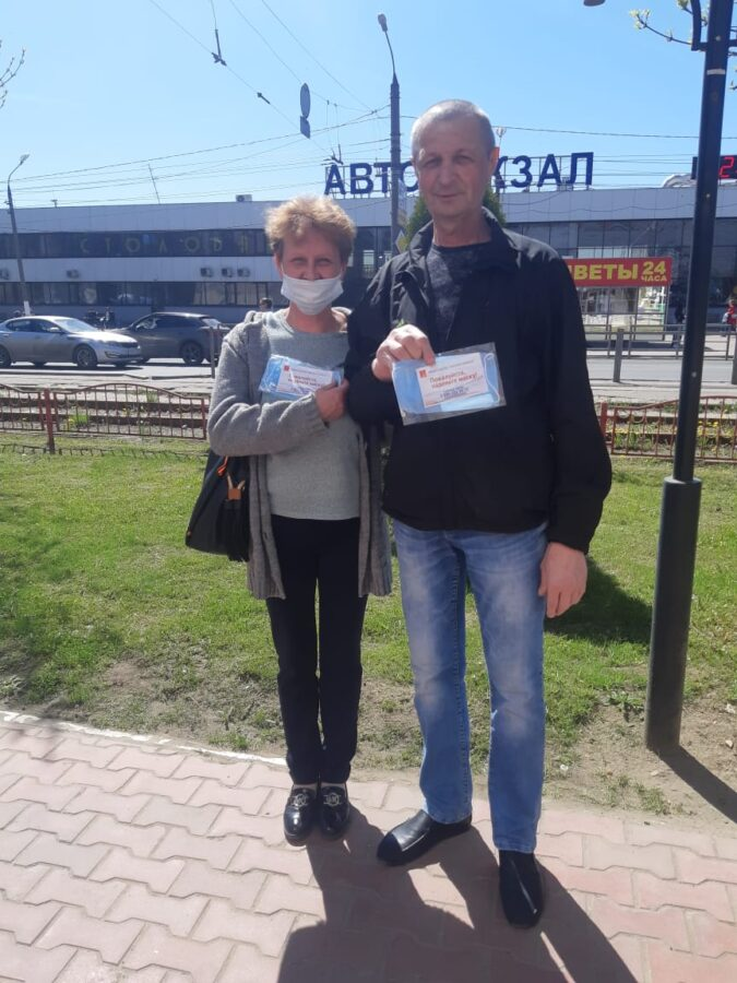 В Тверской области раздали почти полмиллиона многоразовых защитных масок