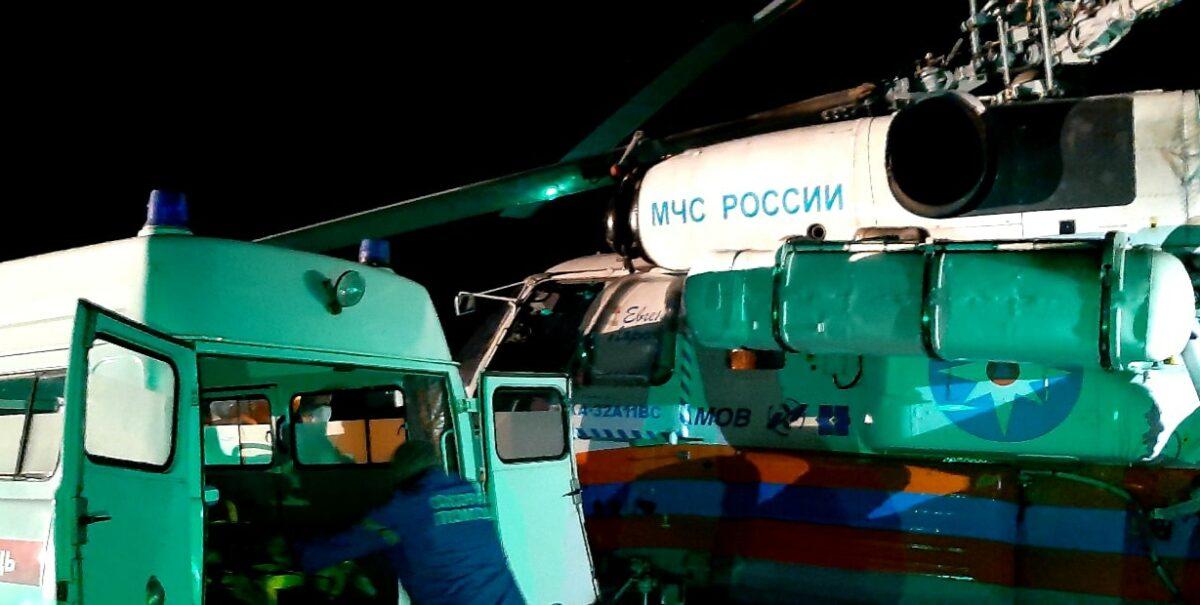 Мужчину с острым инфарктом миокарда на вертолёте доставили в Тверь