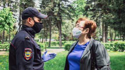 Без паспорта, но с Конституцией: в тверских парках проходят рейды полиции