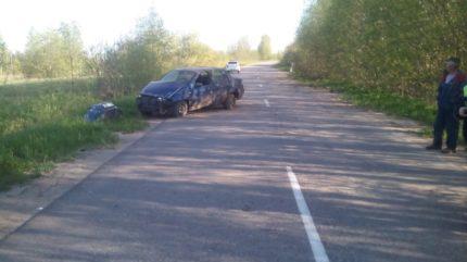 В ДТП в Тверской области водитель «Фиата» повредил голову